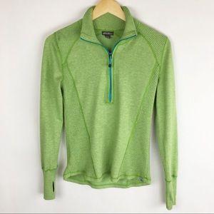 Eddie Bauer | Small | Sweater | 1/2 Zip | Green